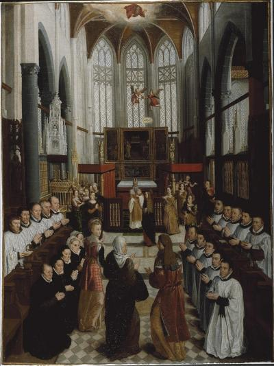 The Presentation of the Virgin in the Temple, C.1530-35-Pieter Claeissens-Giclee Print
