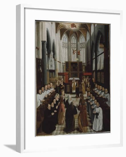 The Presentation of the Virgin in the Temple, C.1530-35-Pieter Claeissens-Framed Giclee Print