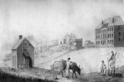 The President's House, USA, 1799--Giclee Print