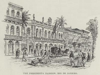 The President's Mansion, Rio De Janeiro--Giclee Print