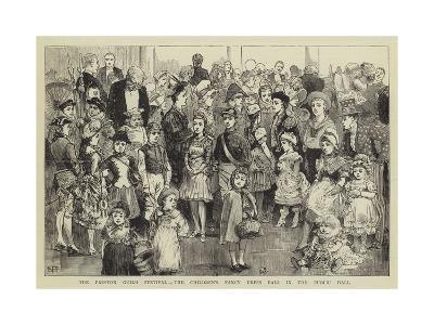 The Preston Guild Festival, the Children's Fancy Dress Ball in the Public Hall--Giclee Print
