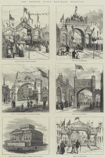 The Preston Guild Merchant Festival--Giclee Print