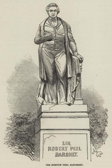 The Preston Peel Monument--Giclee Print