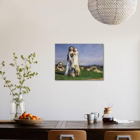 The Pretty Baa Lambs 1852 Giclee Print Ford Madox Brown Art Com