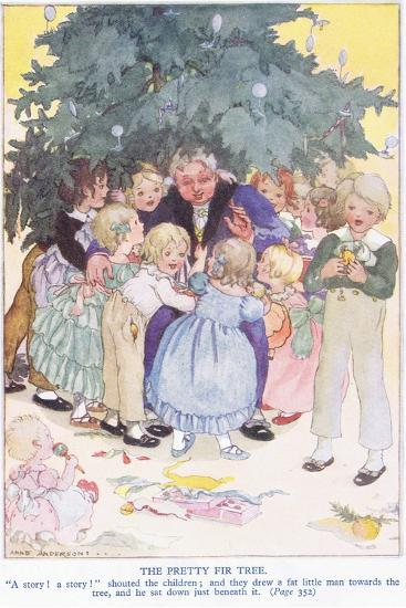 The Pretty Fir Tree-Anne Anderson-Giclee Print