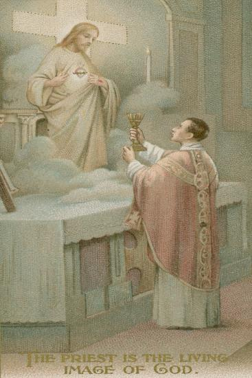 The Priest Is the Living Image of God--Giclee Print