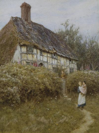 The Priest's House, West Hoathly-Helen Allingham-Giclee Print