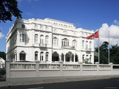 The Prime Minister's Office, Known as Whitehall, Port of Spain, Trinidad & Tobago-G Richardson-Photographic Print