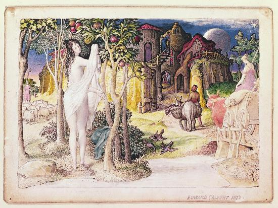 The Primitive City, 1822-Edward Calvert-Giclee Print