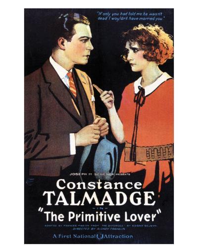 The Primitive Lover - 1922--Art Print