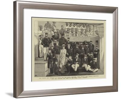 The Prince and Princess of Wales and the Royal Children--Framed Giclee Print
