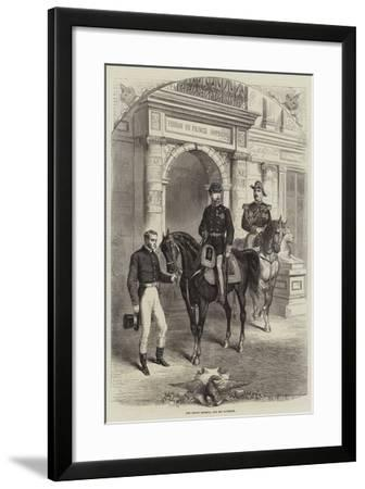 The Prince Imperial and His Governor--Framed Giclee Print