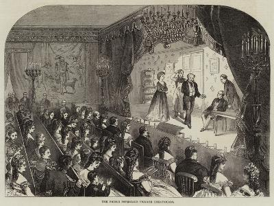 The Prince Imperial's Private Theatricals--Giclee Print