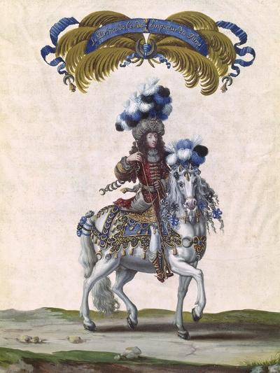 The Prince of Conde as the Emperor of Turkey-Israel Silvestre The Younger-Giclee Print