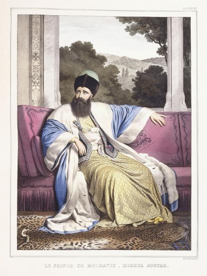 The Prince of Moldavia-Louis Dupre-Giclee Print