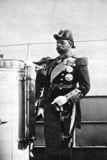 The Prince of Wales (1865-193), the Future King George V, 1908--Giclee Print