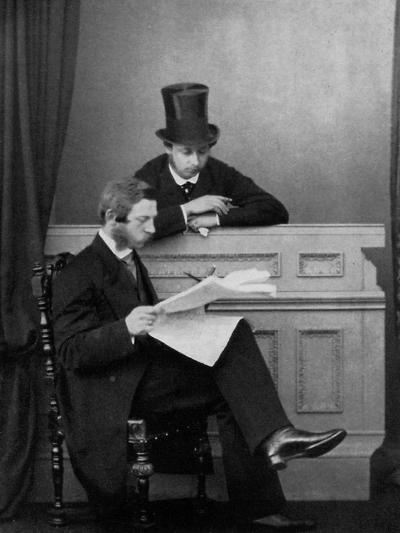 The Prince of Wales and Crown Prince Frederick William of Prussia, Windsor, 1863--Giclee Print