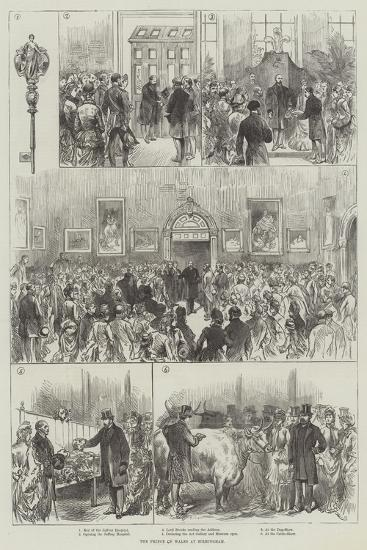 The Prince of Wales at Birmingham--Giclee Print