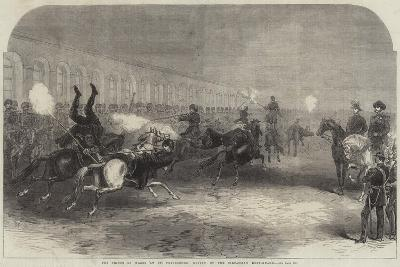 The Prince of Wales at St Petersburg, Review of the Circassian Body-Guard--Giclee Print