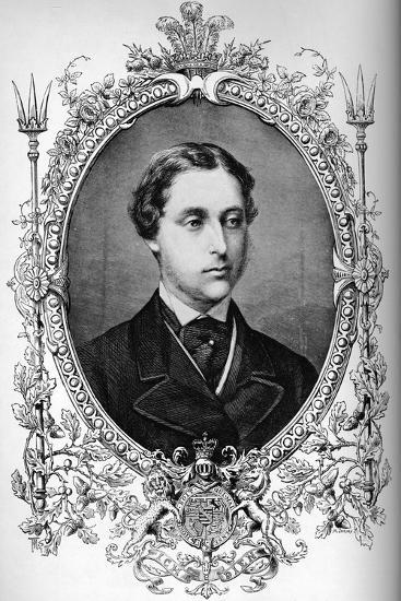 The Prince of Wales at the time of his marriage, c1863 (1910)-Unknown-Giclee Print