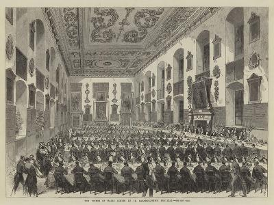 The Prince of Wales Dining at St Bartholomew's Hospital--Giclee Print