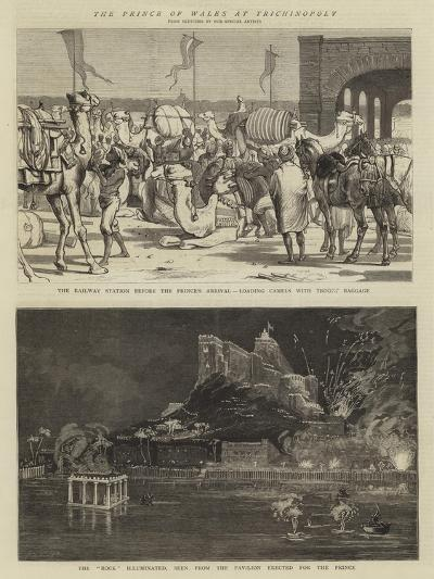 The Prince of Wales in Trichinopoly-Alfred Chantrey Corbould-Giclee Print