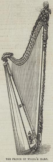 The Prince of Wales's Harp--Giclee Print