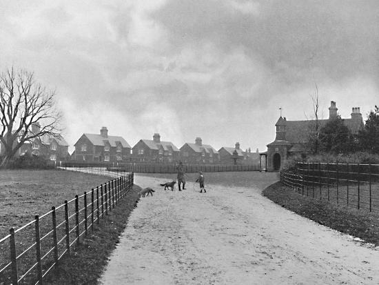 'The Prince of Wales's Model Village at Sandringham', c1896-Unknown-Photographic Print
