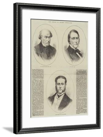 The Prince of Wales's Physicians--Framed Giclee Print