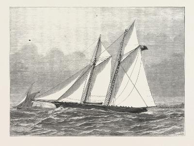 The Prince of Wales's Yacht, Hildedegarde, 1876, UK--Giclee Print