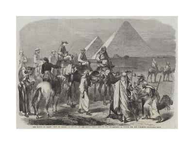 The Prince of Wales' Visit to Egypt--Giclee Print