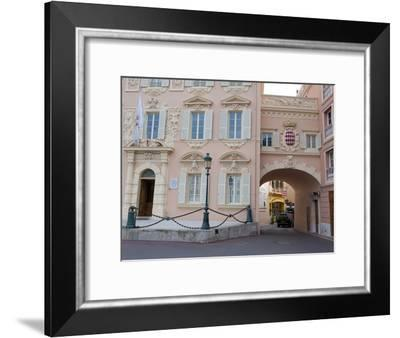 The Prince's Palace in Monaco, French Riviera, Cote D' Azure-Greg Dale-Framed Photographic Print
