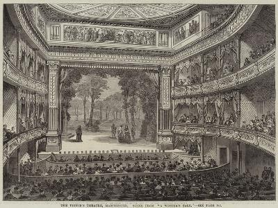 The Prince's Theatre, Manchester, Scene from A Winter's Tale--Giclee Print