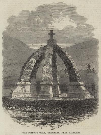 The Prince's Well, Glenmark, Near Balmoral--Giclee Print