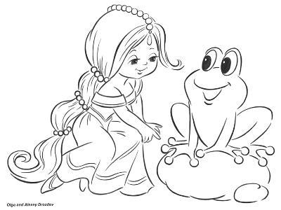 The Princess and the Frog-Olga And Alexey Drozdov-Giclee Print