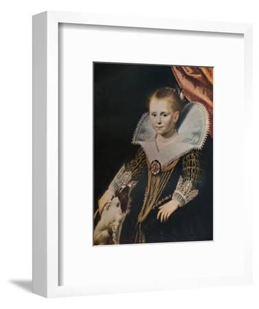 'The Princess', c1623 (c1927)-Paulus Moreelse-Framed Giclee Print