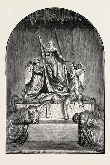 The Princess Charlotte Monument. the Princess Charlotte Augusta--Giclee Print