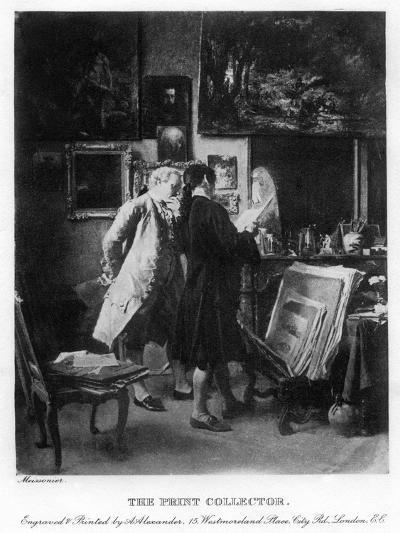 The Print Collector, 1908-1909-A Alexander-Giclee Print
