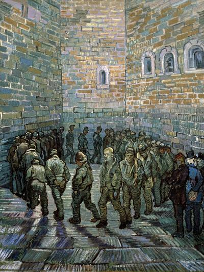 The Prison Courtyard, 1890-Vincent van Gogh-Giclee Print