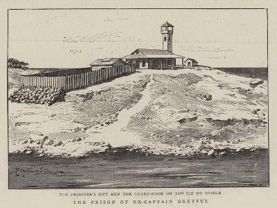 The Prison of Ex-Captain Dreyfus--Giclee Print