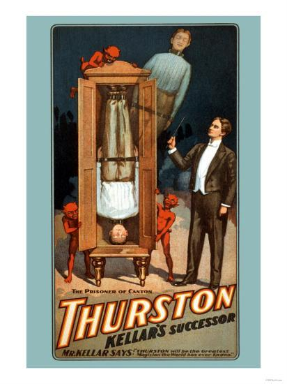 The Prisoner of Canton: Thurston Kellar's Successor--Art Print