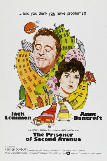 The Prisoner of Second Avenue, 1975--Giclee Print