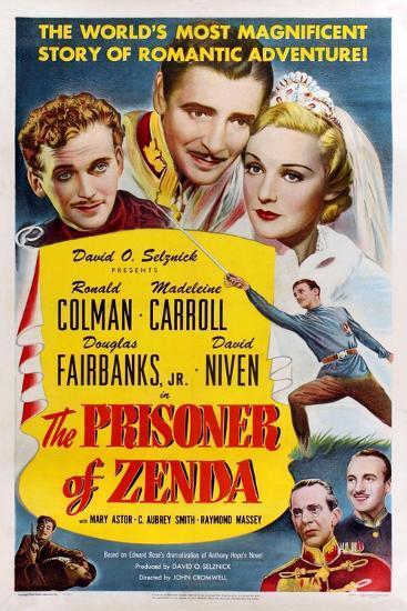 The Prisoner of Zenda, 1937--Giclee Print