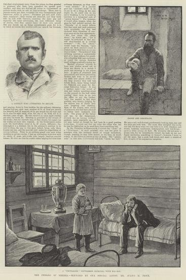The Prisons of Siberia-Frederick Pegram-Giclee Print