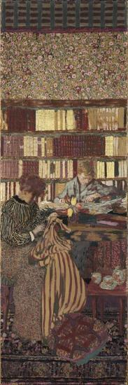 The Privacy. Decoration for the Library of Dr. Vaquez-?douard Vuillard-Giclee Print