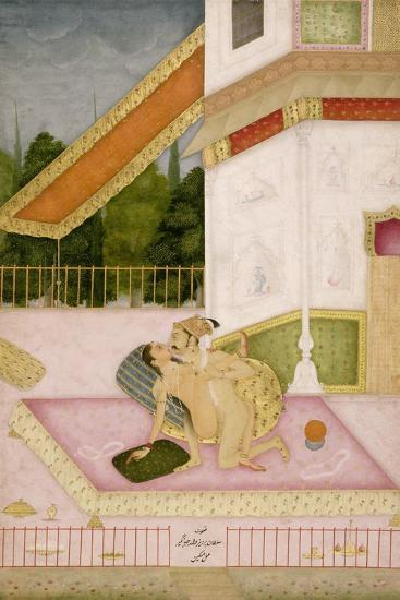 The Private Pleasure of Prince Parwez--Giclee Print