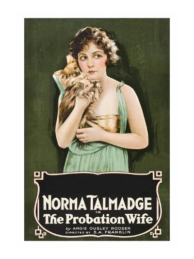 The Probation Wife--Art Print