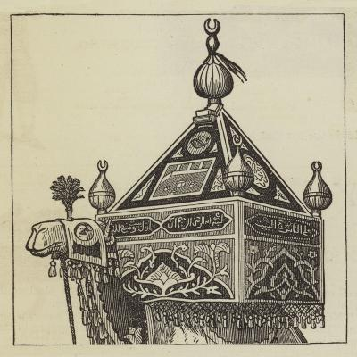 The Procession of the Holy Carpet--Giclee Print