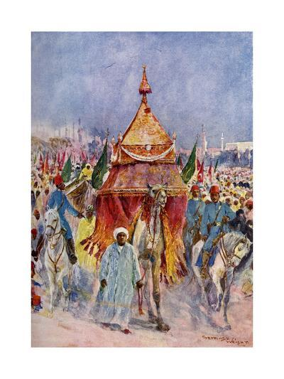 The Procession of the Mahmal, Cairo, Egypt--Giclee Print