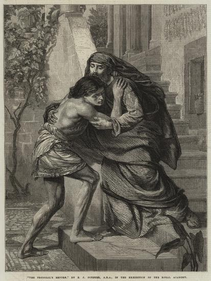 The Prodigal's Return-Sir Edward John Poynter-Giclee Print